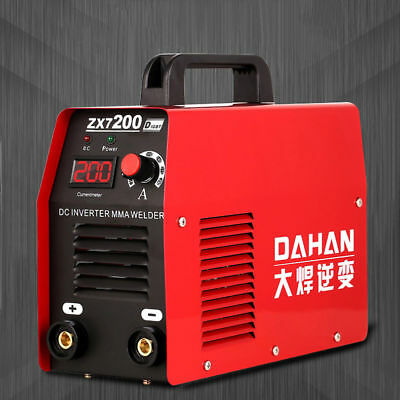 New 220v Portable Small Household Inverter Dc Electric Welding Machine Zx7-200d