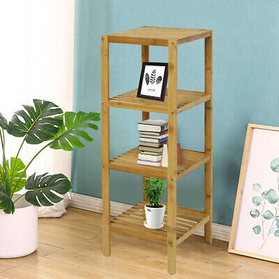 4 Tier Storage Display Organizer Rack Shelves Shelving Home Kitchen New