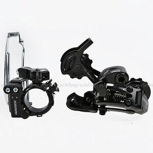 SRAM-X4-Front-Derailleur-Rear-Derailleur-7-8S-Black