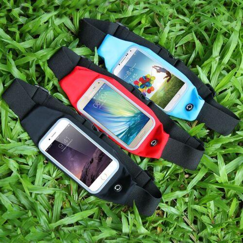 Sport Handy Schutztasche Waist Tasche Gym Rennen Joggen Weich Hülle Für iPhone