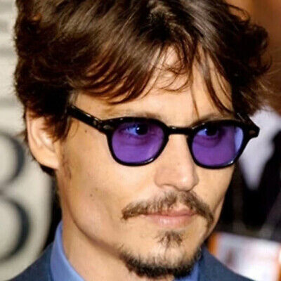 Brand Design Vintage Johny depp Sunglasses Pilot Eyewear Driving Men Sun (Mens Eyewear Brands)