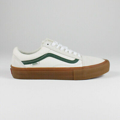 Vans Old Skool Pro Shoes – Marshmallow / Alpine in UK Sizes 7,8,9,10,11