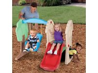 Little Tikes Hide and Seek Swing and Slide