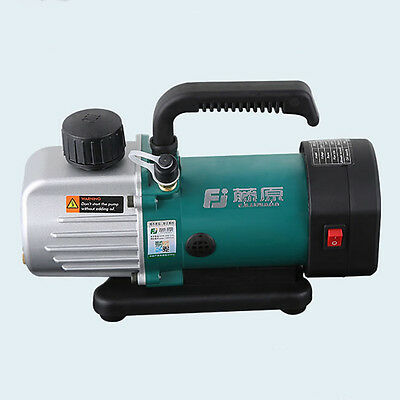 220v 1.8cfm Double Stage Vacuum Pump 14hp 187.5w Rotary Vane Degassing Machine