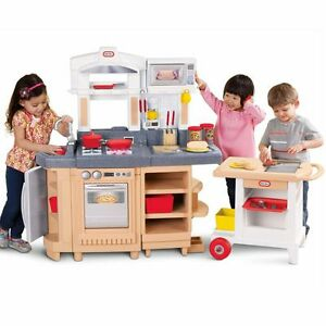 ON HOLD!  Little Tikes Cook Around Kitchen with Cart