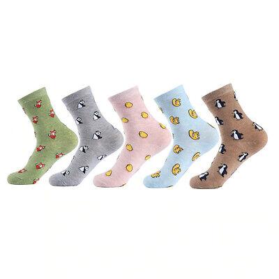 Süße Weiche Bequeme Tiersocken Tiere Socken Pinguin Vogel Küken Fuchs Bär
