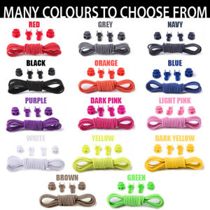 BRAND NEW No Tie Elastic Shoelaces - Suitable for All Ages
