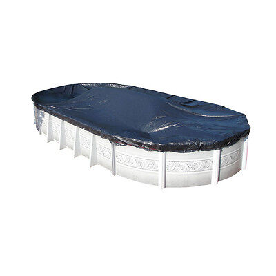 - Harris Blue Winter Cover for Above Ground Oval Pools