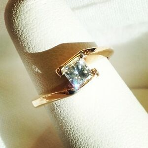 Gorgeous Princess Cut Diamond Solitaire