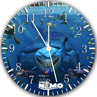 Disney Finding Nemo Frameless Borderless Wall Clock Nice For Gifts or Decor Z98