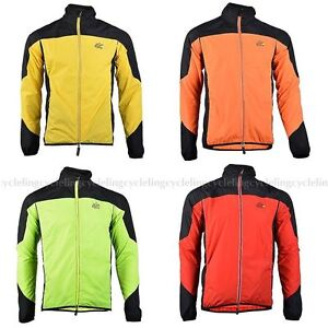 2014-ROCKBROS-Tour-de-France-Long-Sleeve-Cycling-Wind-Coat-4-Colors-New