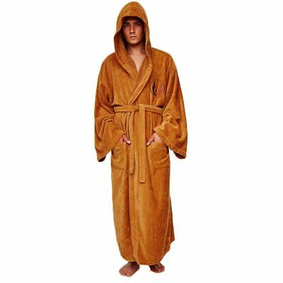 Star Wars Jedi Knight Towelling Bathrobe Dressing Gown - One Size Cotton Cosplay