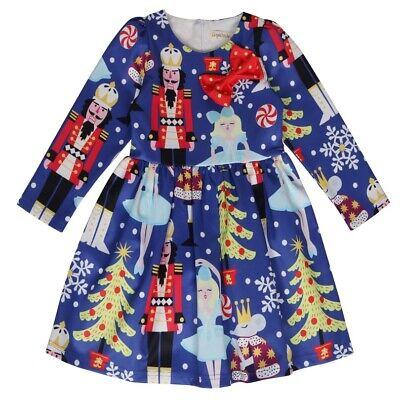 Kids Girls Princess Skirt Christmas Nutcracker Evening Dress Party Outfits Gift ()