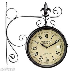 Railroad Clock Ebay