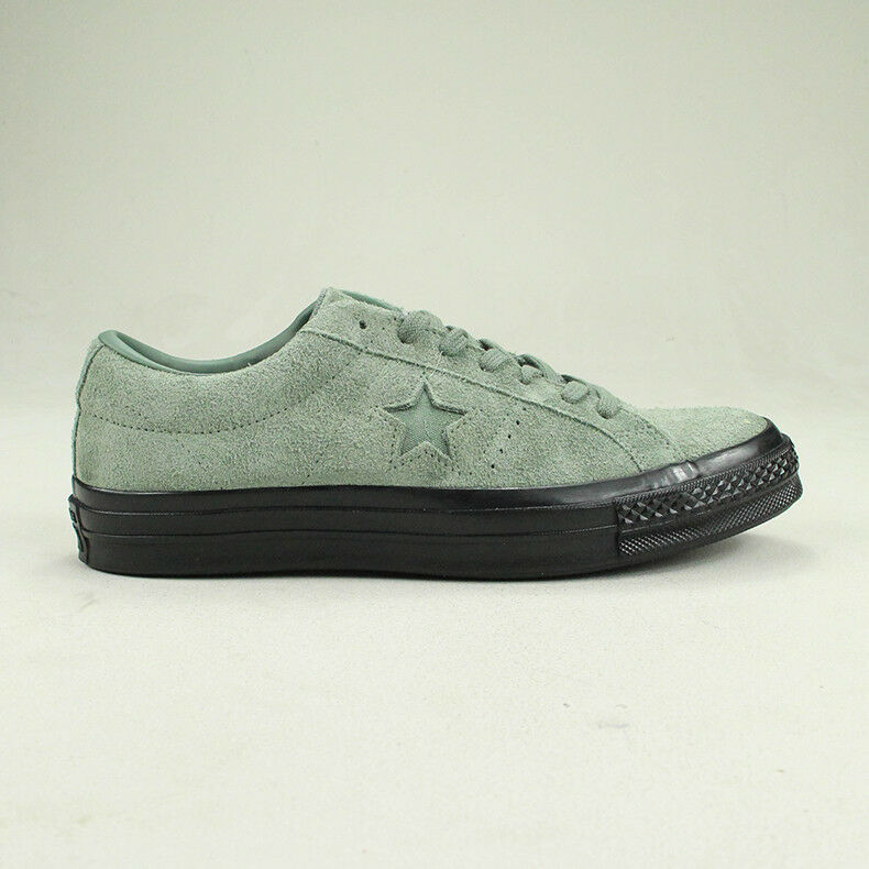 Details about Converse One Star Pro Ox Trainers Shoe in Utility Green in UK size 6,7,8,9,10,11