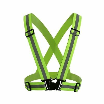 Running Sets Wholesale 10 Pcs Fluorescent Warning Usb Charging Chest Lamp Led Straps Lights Reflective Vest Safety Cycling Running Clothing To Rank First Among Similar Products