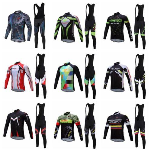 Fahrradbekleidung Männer Radfahren Jersey MTB Bike Langarm Hosen Set Sport Top
