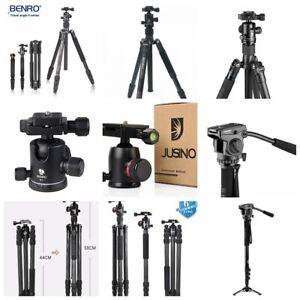 Benro /Jusino tripods 2640/423S/426/254 Kit/Monopod 361/254E,etc