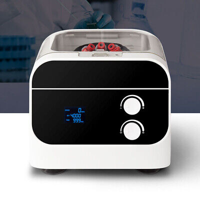 4000rpm Electric Lab Bench Top Centrifuge Digital Low-speed Prp Serum Separator