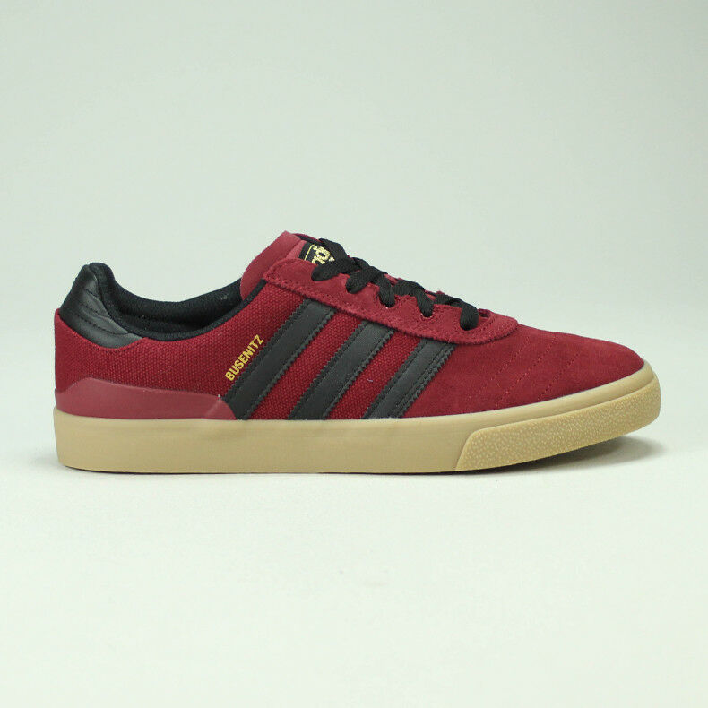 Details about Adidas Busenitz Vulc RX Skate Trainers Shoes ScarletBlack UK Size 6,7,8,9,10,11