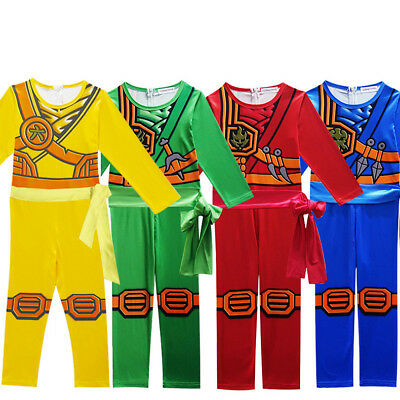 Ninjago Cosplay Costume Boys Clothes Sets Children Halloween Costume Fancy Party