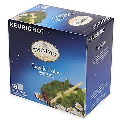 Twinings of London Nightly Calm Herbal Tea Keurig K-Cups - 1