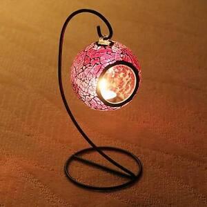 Mosaic-Lanter-Candle-Tealight-Holder-Party-Light-Event-decor-Hurricane-4-color