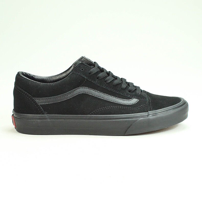 vans old skool black size 4