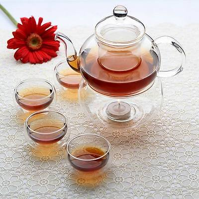 Chinese Glass Gonfu teapot set + infuser ...