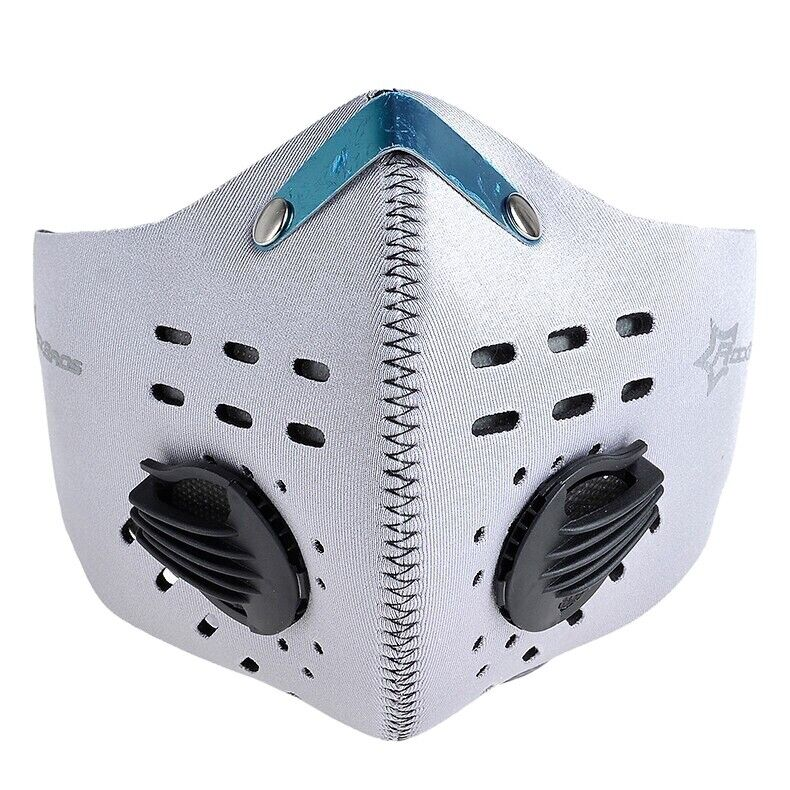 Outdoor Pollution Face Mask w/Replaceable Filter Neoprene washable