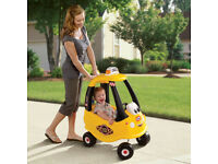 £25.00 BRAND NEW* Little Tikes* Cozy Coupe Yellow _Cab Ride-On Car_ £25.00