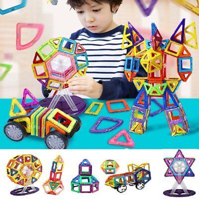 DIY Magnetspiel 76 Teile Magnetspielzeug Magnetbaukästen Spielzeug Magnet Puzzle