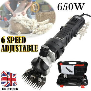 650W Electric Shearing Clippers Shears Sheep Goat Animal Trimmer Farm Machine
