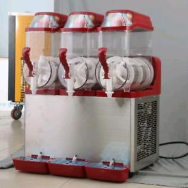 Brand New Triple Commercial Slush Ice Machine