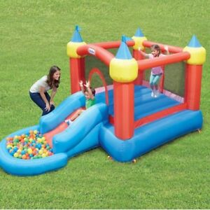 Bouncy castle with ball pit $50 rental