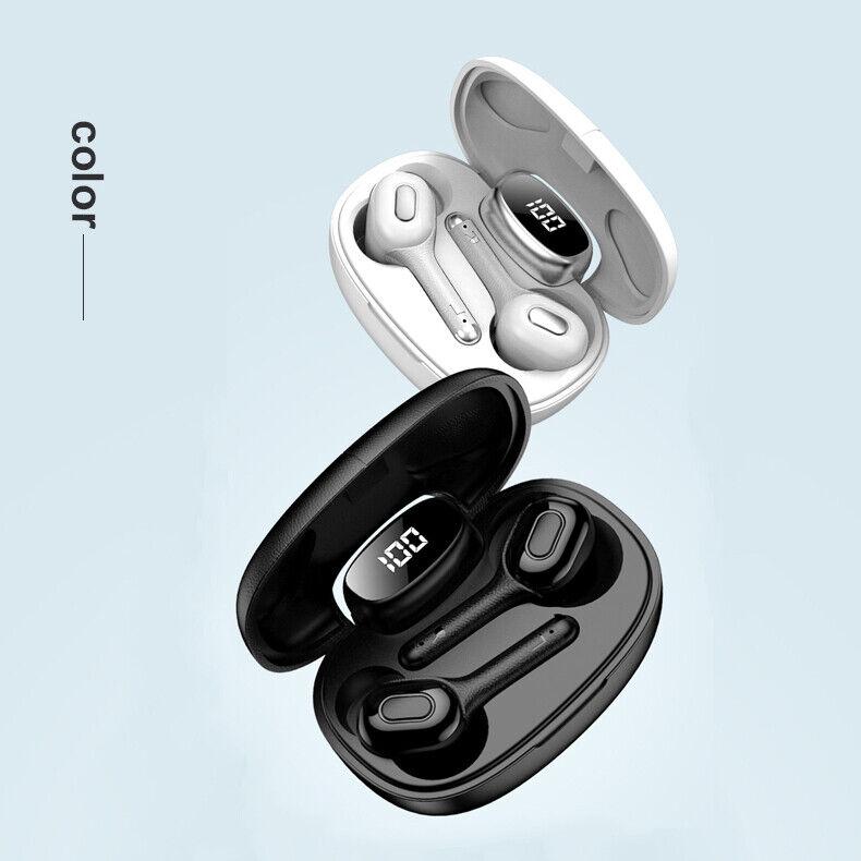 Bluetooth earbuds TWS wireless headphone 5.0 noise canceling waterproof headset