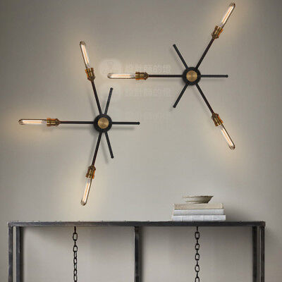 Restoration Kinetic Wall / Ceiling Sconce E27 Light Lamp Flushmount / -