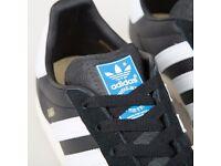 adidas Originals x Samba Spzl Core Black, size 8,5, casual terrace, FREE delivery!