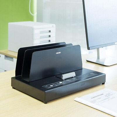 220v Hot Melt Binding Machine Melt Electric Book Binder For A4 A5 A6 300x40mm