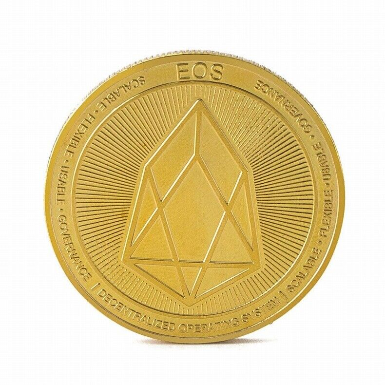 EOS Gold Plated Coin Miner Cryptocurrency