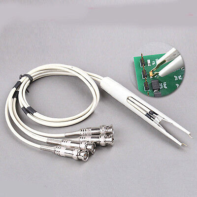 Digital Bridge Alligator Kelvin Clip Test Clamp Chip Resistor Element Test Line