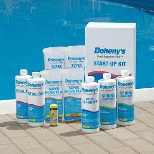 Dohenys Swimming Pool Start Up Kit 30 000 Gal