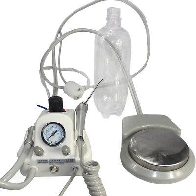 2 Hole Dental Air Turbine Unit For Compressor Portable 3 Way Syringe Dhl