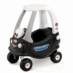 Little tikes police cozy coupe
