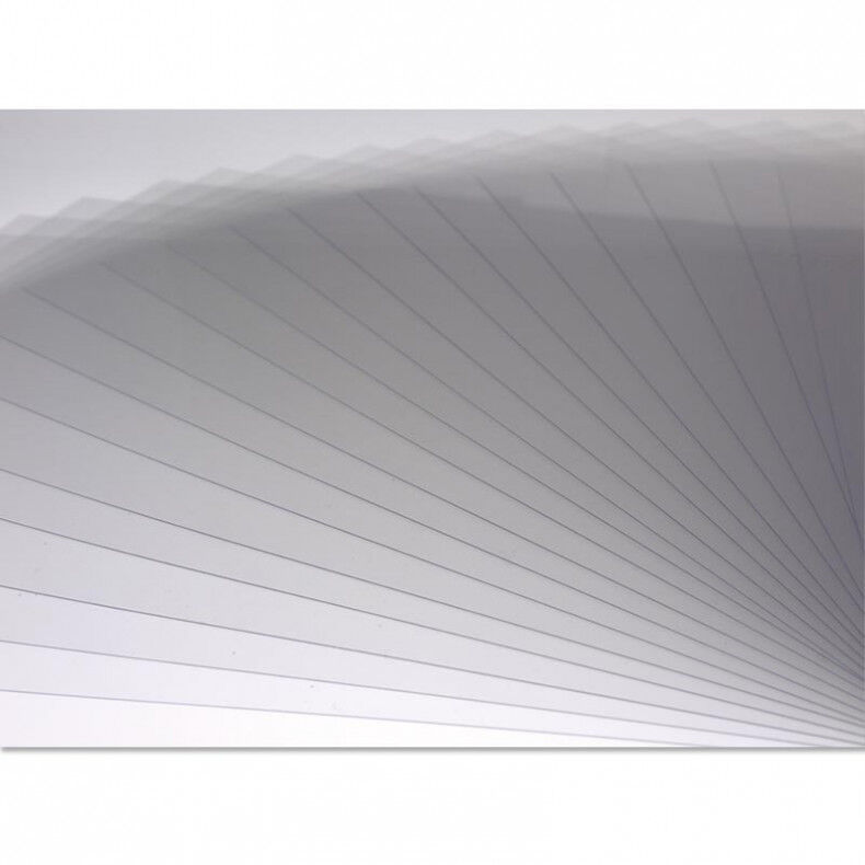 """Clear Acetate 4""""x6""""  Pack of 6 Window Sheets For Craft Card"""