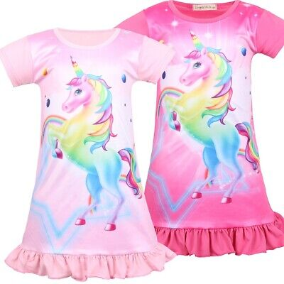 Best Christmas Gifts for Girls Lisa Frank Rainbow Majesty Unicorn Nightgown