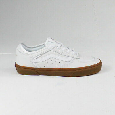 Vans Rowley Classic Shoes Trainers – True White/ Gum in UK Sizes 7,8,9,10,11