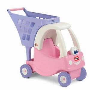 NEW: Little Tikes Cozy Shopping Cart (Pink) - $35 CASH, NO TAX