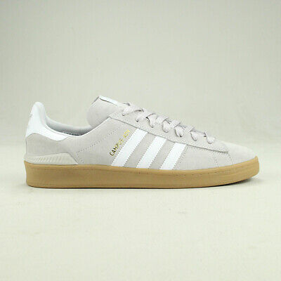 Adidas Campus ADV Skate Trainers Shoes Grey/Gum Size UK 6,7,8,9,10,11