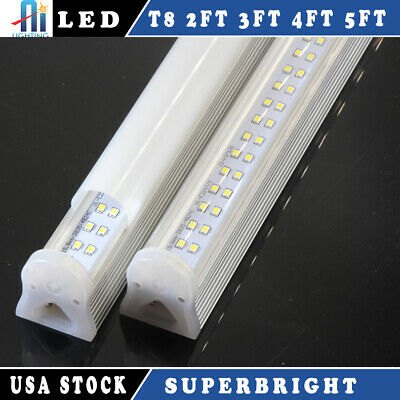 LED T8 4FT 22W 120cm Integrated Tube Light 6000k Best Replace 60w with